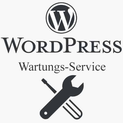 Wordpress Wartung, Wordpress Service