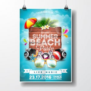 Plakat Design, Grafik, Flyer, Folder